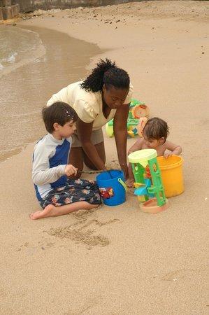 Franklyn D Resort & Spa: Nanny & Kids