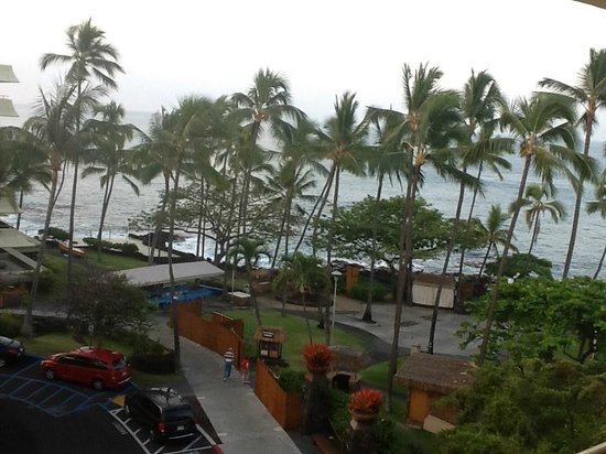 Royal Kona Resort:                   Room view