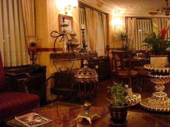 Dersaadet Hotel Istanbul:                   Dersadeet hotel lobby                 