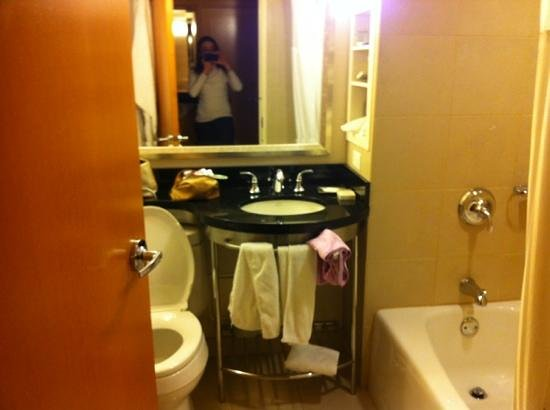 New York Hilton Midtown:                   bagno