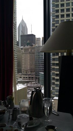 Kimpton Hotel Palomar Chicago: Breakfast with a view