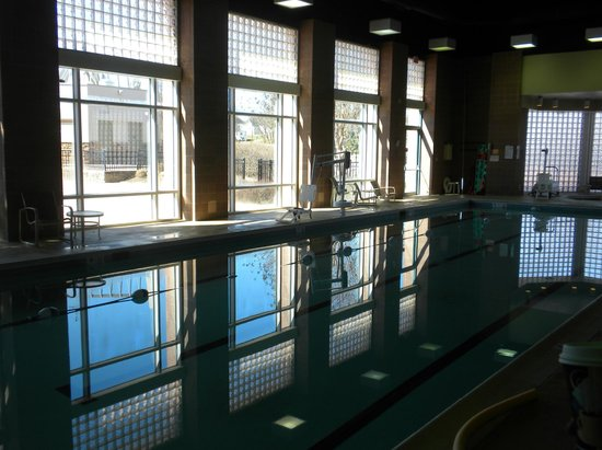 Indoor lap pool and jacuzzi picture of lansdowne resort - Hotels in lansdowne with swimming pool ...