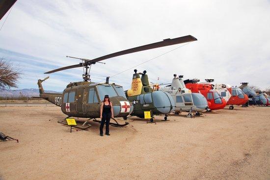 Pima Air & Space Museum :                   M.A.S.H Chopper