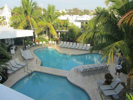 Santa Maria Suites:                   Garden Room balcony