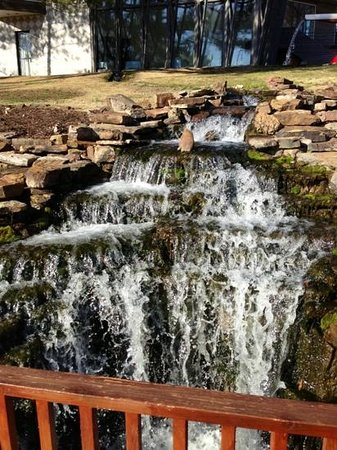 Inn at the Mill: Waterfall