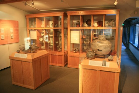 Museum of Northern Arizona: More Native American pottery.