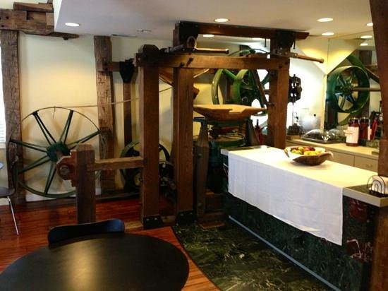 Inn at the Mill: Wine & Cheese Bar Area