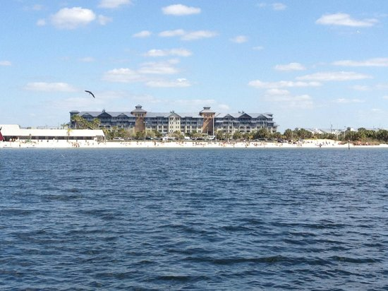 The Inn at Little Harbor:                   View of N buildings from the water