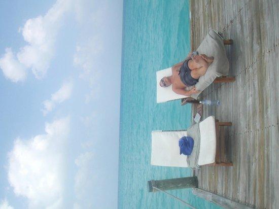 Kuramathi Island Resort: Serenade jetty