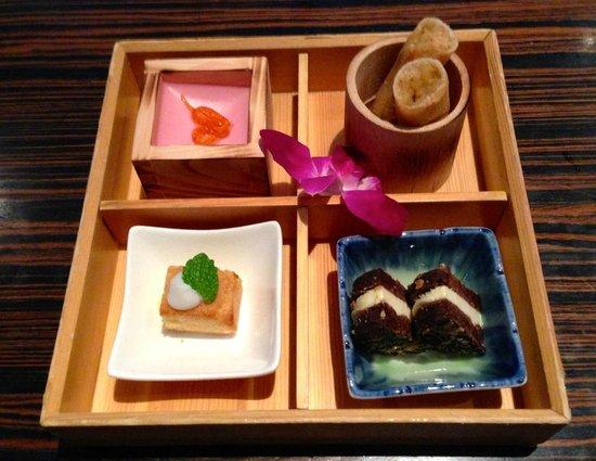 Kome Fine Japanese Cuisine:                                     Dessert Bento Box