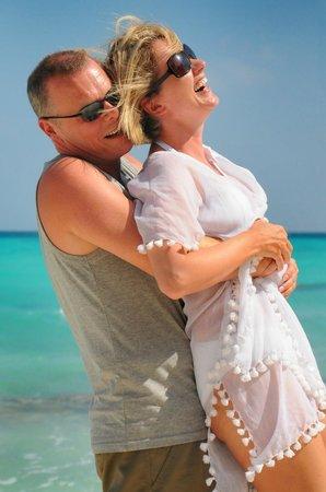Kuramathi Island Resort: Photo shoot picture for honeymoon