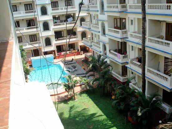 Fun Holidays Goa: view from balcony