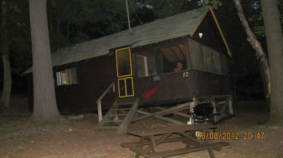 Charlton Lake Camp:                   one of the cottages