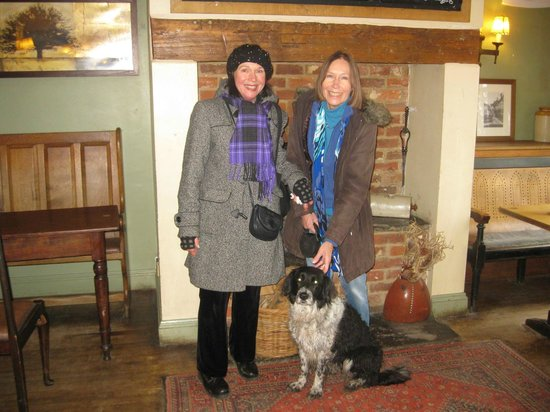 The Red Shoot:                   Birthday pub visit with a welcome, happy dog