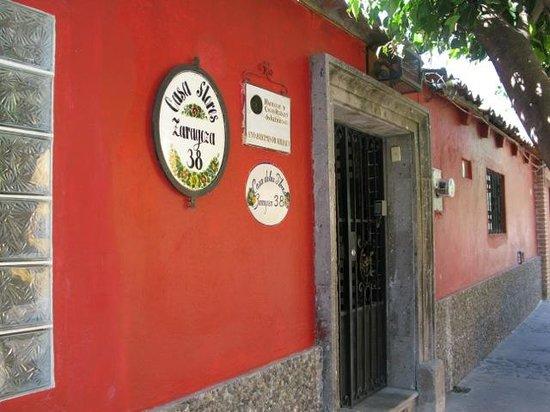 Casa Flores:                   Case Flores front door                 