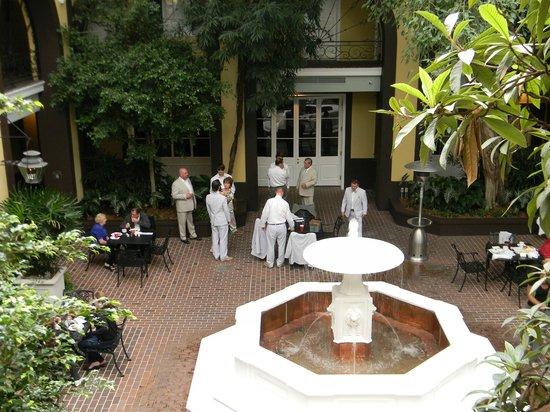 Hotel Mazarin:                   amazing court yard