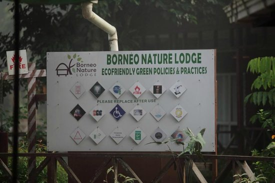 Borneo Nature Lodge: rules + regs