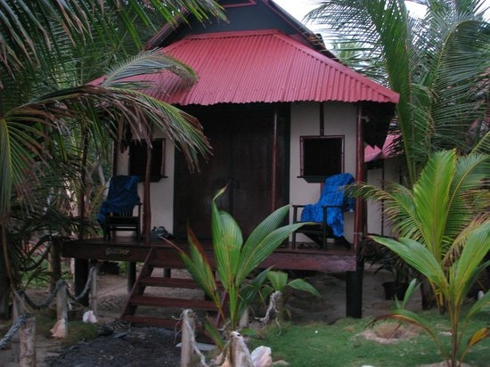 Little Corn Beach and Bungalow:                   Typical Bungalow at LCBB