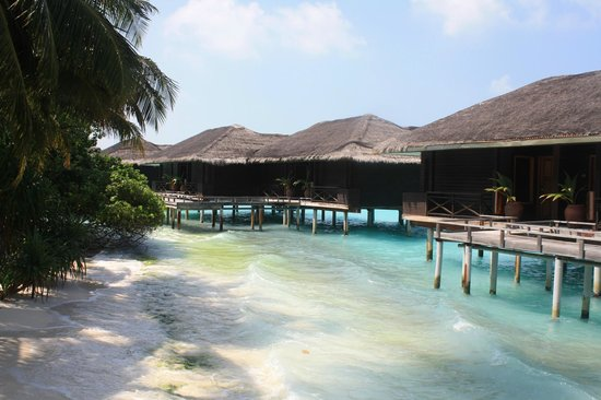 Kuramathi Island Resort: water villa without jacuzzi