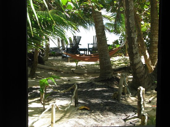 Little Corn Beach and Bungalow:                   Lovely Grounds