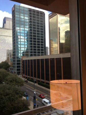 The Fairmont Dallas: Dallas - the view out my window
