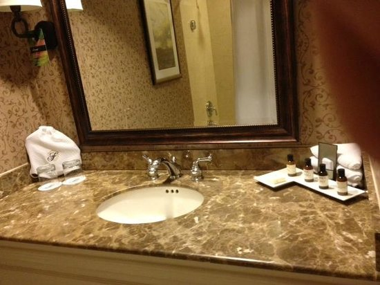 The Fairmont Dallas: Bathroom with Rose 31 products