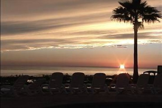 Sonoran Spa Resort Rocky Point:                   Sunset looking east