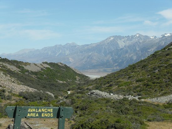 Tasman Valley 4WD & Argo Tours:                   The Tasman Valley