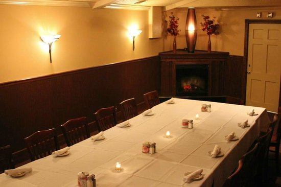 Fenton Hotel Tavern and Grille:                   Private Room