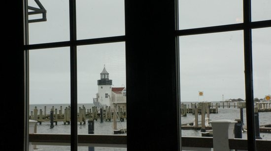 Saybrook Point Inn & Spa: View from 'Fresh Salt' restaurant