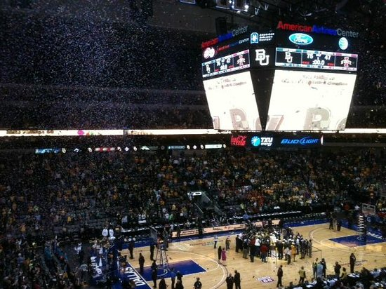 American Airlines Center: Good place for sporting events