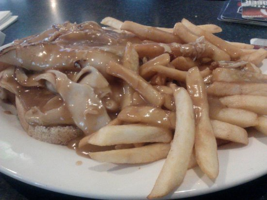 Villa Nova West: Hot Turkey Sandwich and Fries
