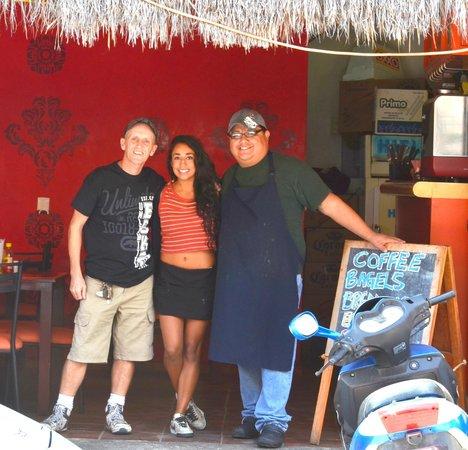 Java: Jez, Mellissa & Obed the wonder chef!