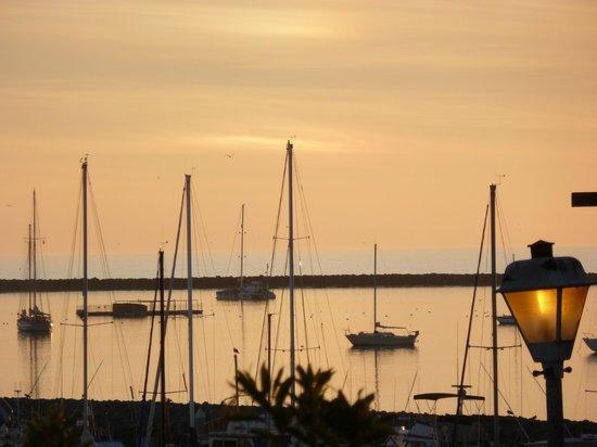 Oceano Hotel & Spa Half Moon Bay:                   Just around sunset