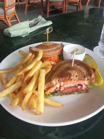 Ilima Terrace Restaurant :                   Salmon sandwich