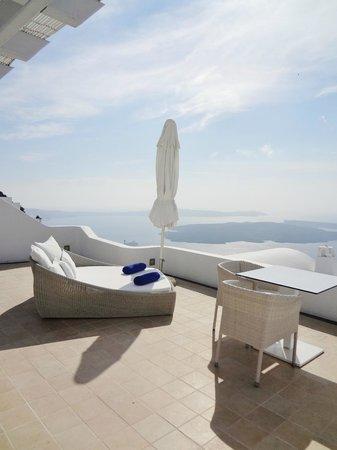 Astra Suites:                   Balcony