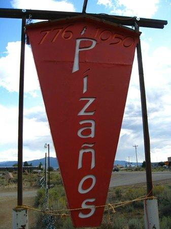 Pizanos Pizza:                                     .