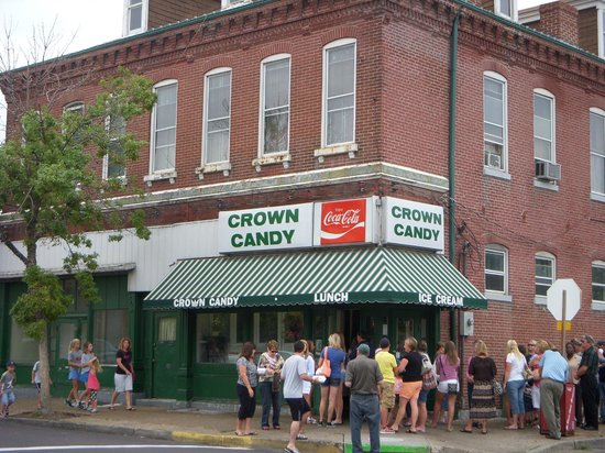 Crown Candy Kitchen:                   front view