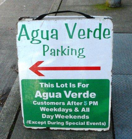 Agua Verde Cafe: Agua Verde