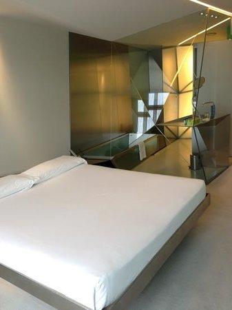 Hotel Puerta America:                   splash room on the 4th floor