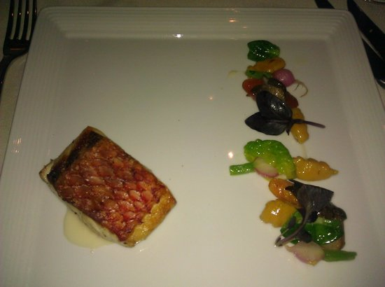 Roy's:                   Seared Snapper
