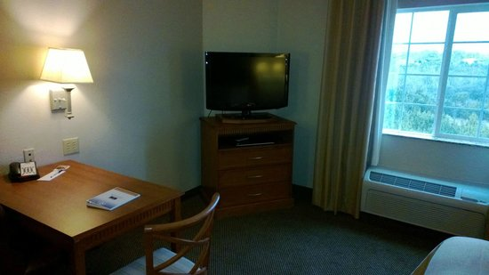 Candlewood Suites Temple:                   flat screen