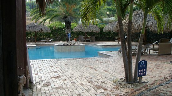 Blue Bay Curacao Golf & Beach Resort, Apartments and Villas:                   large pool at the beach