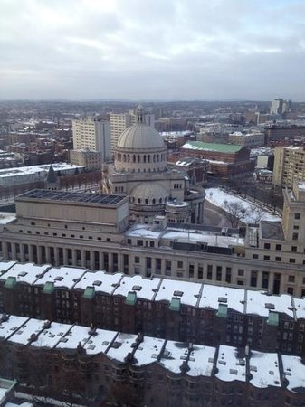 Hilton Boston Back Bay:                   gran vista piso 23