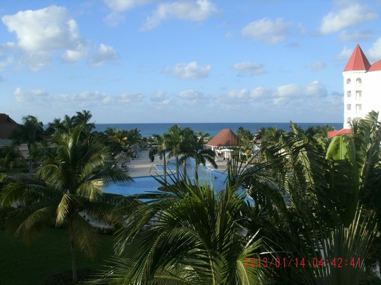 Grand Bahia Principe Jamaica:                                     View from our room