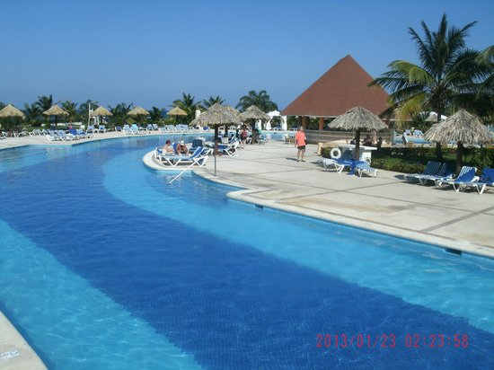 Grand Bahia Principe Jamaica:                                     Different area of pool