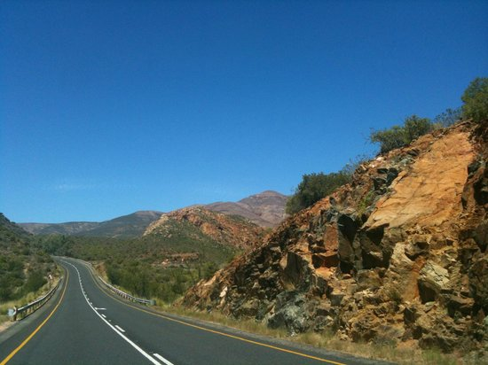 Thabile Lodge:                                     Driving in - this captures the colors best.