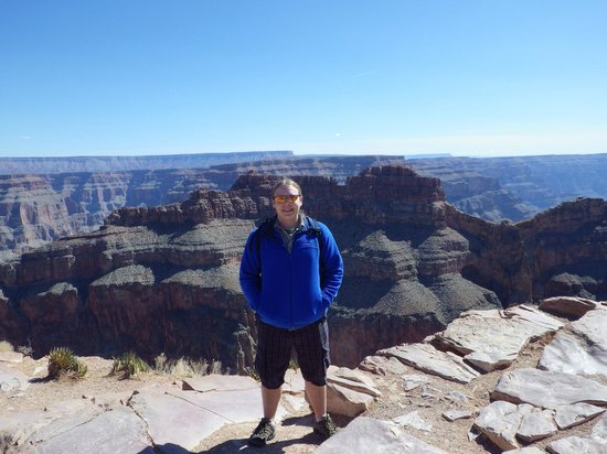 Comedy on Deck Tours: Grand Canyon from West Rim