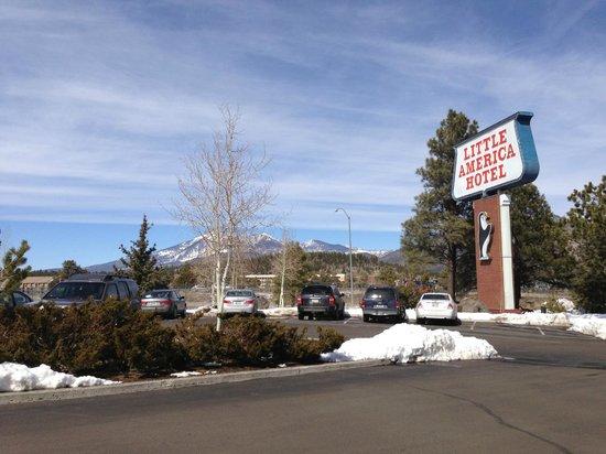 Little America Hotel Flagstaff:                                     Mountain View
