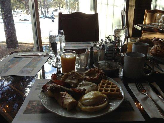 Little America Hotel Flagstaff:                                     Brunch